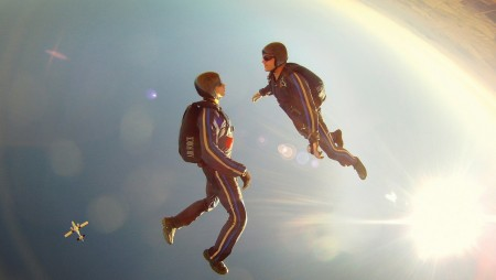 Skydiving  – A thrill for many